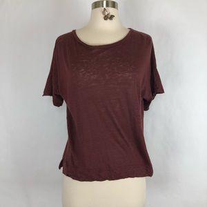 Madewell linen T-shirt size XS